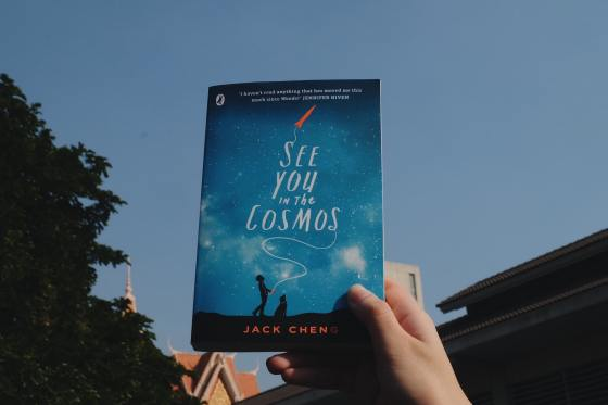 Book See You in the Cosmos, written by Jack Cheng,