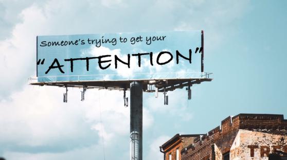 attention billboard